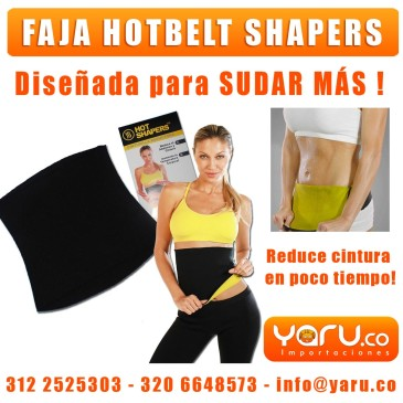 Faja HotBelt Reductora Hot Shapper Colombia