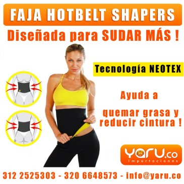 Faja Hot Belt Unisex Neopreno